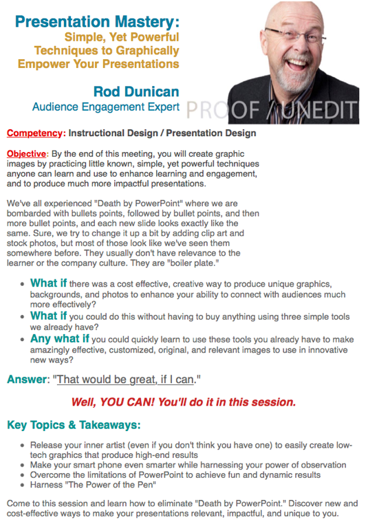 Super-Charge Your Presentations – Rod Ventures